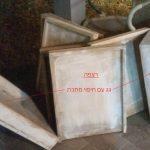 הכנת קומות ישנות לשימוש בכוורת