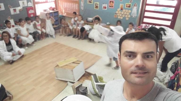 פעילות דבורים בגן ילדים